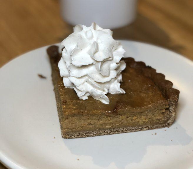 Delicious Squash Pie at True Food Kitchen