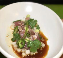 Tuna Tataki at True Food Kitchen